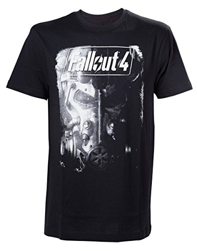 Fallout 4 T-Shirt -M- Brotherhood of Steel, schwar