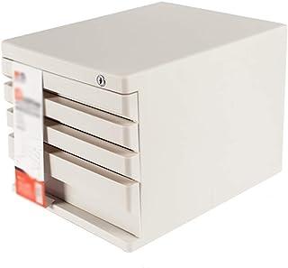 HongLianRiven Boîte de Rangement pour Papeterie et cosmétiques 26,6 x 36 x 25,5 cm