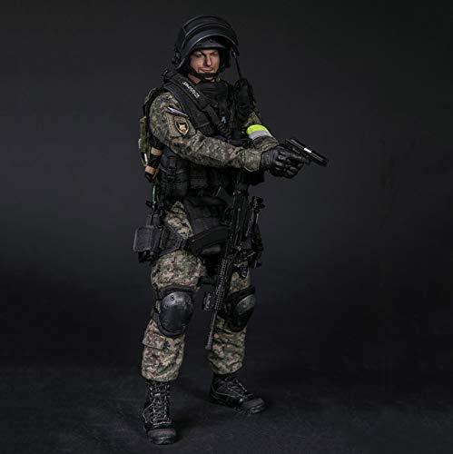 ZH 1/6 Fuerzas Especiales Rusas Figuras De Acción, Modelo De Juguete, Estatua De Decorativos, El Regalo Coleccionables Navidad Y Año Nuevo