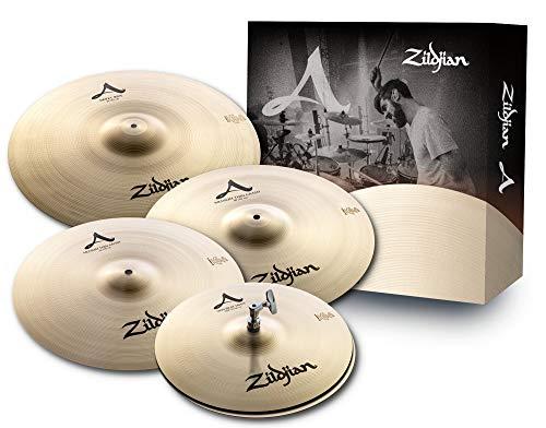 Zildjian A Zildjian Series Cymbal Box Set - 14' New Beat Hi-Hats, 16'/18' Medium Thin Crash, 21' Sweet Ride