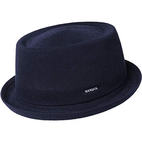 Kangol Cappello da Uomo Bamboo Mowbray Pork Pie Dark Blue (Blu), Herren:M
