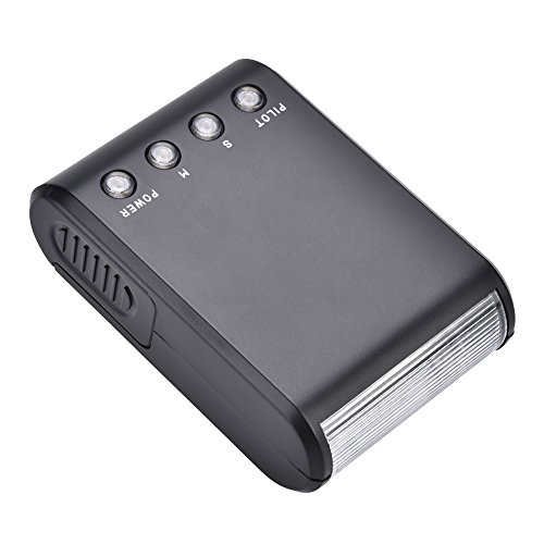Elerose EBTOOLS Mini Blitzgerät mit Tragbarem Speedlite und Digitalkamera für Nikon, Canon, Sony, Pentax, Olympus und DSLR Kameras