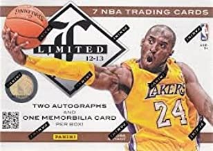 2012/13 Panini Limited Basketball box (7 cards)