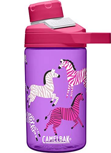 CAMELBAK Jungen Chute Mag Trinkflasche, Zebras, 400 ml