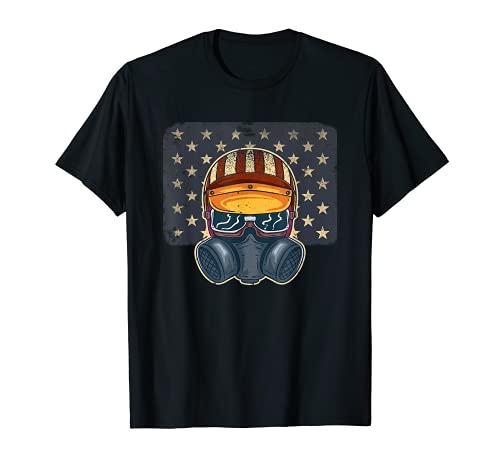 Drag Racing Casco Nos Racecar Nitro Hot Rod Car Tuning Camiseta
