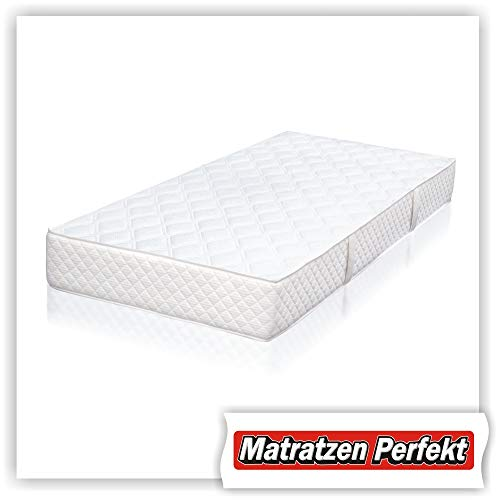 Matratzen Perfekt Orthopädische Federkern-Matratze Orbias ++ Boxspringbett-Matratze ++ Festigkeit: fest (H4) (90 x 200 cm)