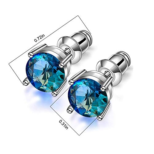 Miwaimao landia 1 Pair Magnetic Slimming Earrings Lose Weight Body Relaxation Massage Slim Ear Studs Patch Health Jewelry Girls Women Best Gift