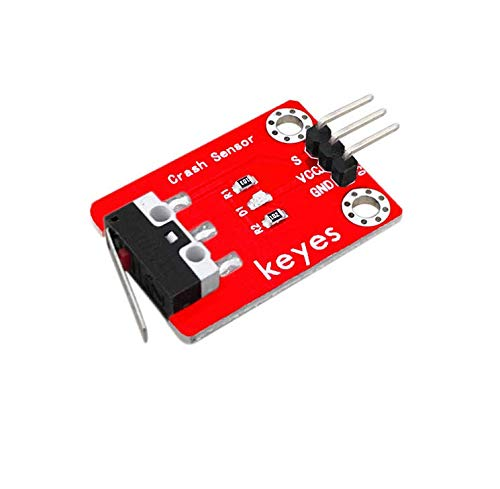 pzsmocn Collision Sensor, Can be Used as a Limit Switch in the 3D Printer.Two Positioning Holes that Allow you to Fix it to Other Devices.
