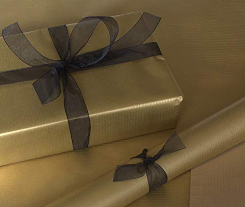 Natural Christmas Gold Kraft (Brown Backed) Gift...