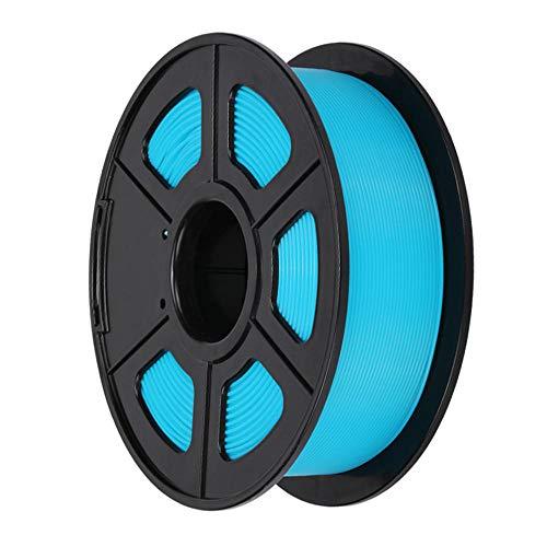 PLA Filament 1.75mm, 3D Printer Filament 1kg(2.2lb), Dimensional Accuracy +/- 0.02mm, for 3d Printers and 3d Pens-Blue 2