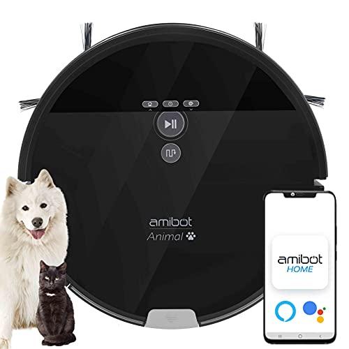 AMIBOT Animal XL H2O Connect - Robots Aspirateurs et laveurs connecté iOS/Android...