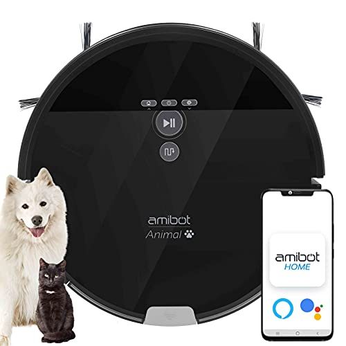 AMIBOT Animal XL H2O Connect - Robot Aspirador y...