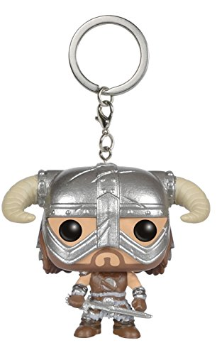 Funko 023195 Pocket Pop The Elder Scrolls V Skyrim Dovahkiin Keychain