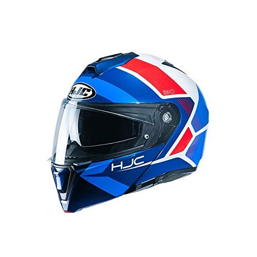 HJC Helmets Herren Nc Helmet, Blau/Rot, M