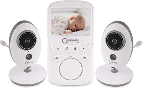Elektronisches Babyphone, zwei unabhängige Kameras, Nachtmodus, Zwei-Wege-Kommunikation