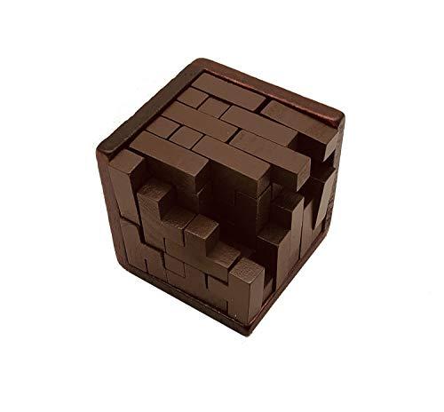 Tieners en volwassenen 3d puzzel kubus houten doos Moeilijk Brain Challenge Intellectual Games Stress Reliever Boys and Girls Birthday Gifts