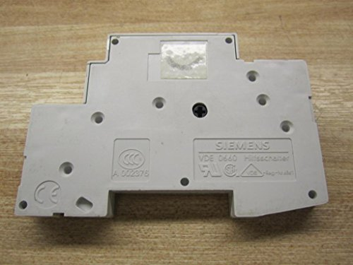 ITE SIEMENS 5SX9100-HS Discontinued by Manufacturer, Auxiliary Contact Block, 1-6AMP, 230VAC, 220VDC, Replacement Type 5ST3010 T70MM, ONLY Suitable for 5SY OR 5SL
