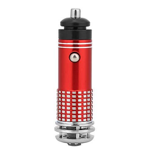Brrnoo Purificatore d'Aria per Auto, Mini purificatore d'Aria per Auto 12V Bar Purificazione Accessori Interni Auto purificatore ionico per la Pulizia del Fumo dell'Aria