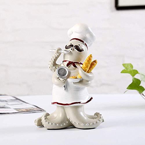 AMITD beeld sculptuur kookfiguren keuken decoratie cartoon woonkamer ornament hars handwerk geschenken