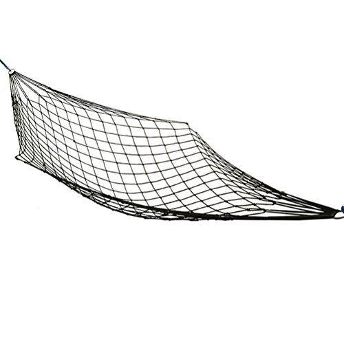 WINOMO Hamac de camping léger en nylon - Portable - Meilleur hamac de parachute - Filet de couchage pour l'intérieur et l'extérieur - Pour la randonnée, le camping et les voyages