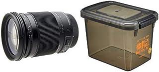 SIGMA 高倍率ズームレンズ Contemporary 18-300mm F3.5-6.3 DC MACRO OS HSM キヤノン用 APS-C専用 886547+HAKUBA ドライボックスNEO 9.5L スモーク 防湿庫 KMC-40