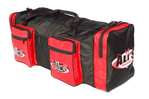 Ali's Fightgear sporttas met martial arts logo 54 liter rood