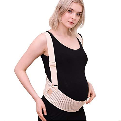 Cinturón de maternidad Cinturón de apoyo for el embarazo |Respirable espalda/protuberancia/pelvis/abdomen banda prenatal cuna for bebé GEATA (Size : L)