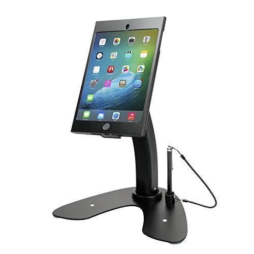 CTA PAD-ASKMB Dual Anti-Diebstahl-Sicherheitshülle mit Aufsteller für Apple iPad Mini (1-4 G) Silber