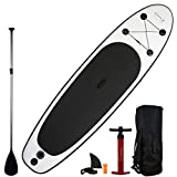 """Blue Water Toys 11' Premium Inflatable Stand Up Paddle Board Set (34"""" Width) 
