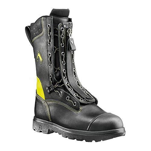 scarpe antinfortunistica vigili del fuoco Haix Fire Flash Gamma - Stivali con chiusura lampo con lacci e protezione antitaglio
