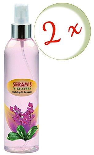 Sparset: 2 x SERAMIS® Vitalspray Blattpflege für Orchideen, 250 ml