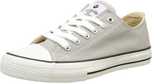 Victoria Zapato Basket Autoclave, Zapatillas Altas para Mujer, Gris, 36 EU