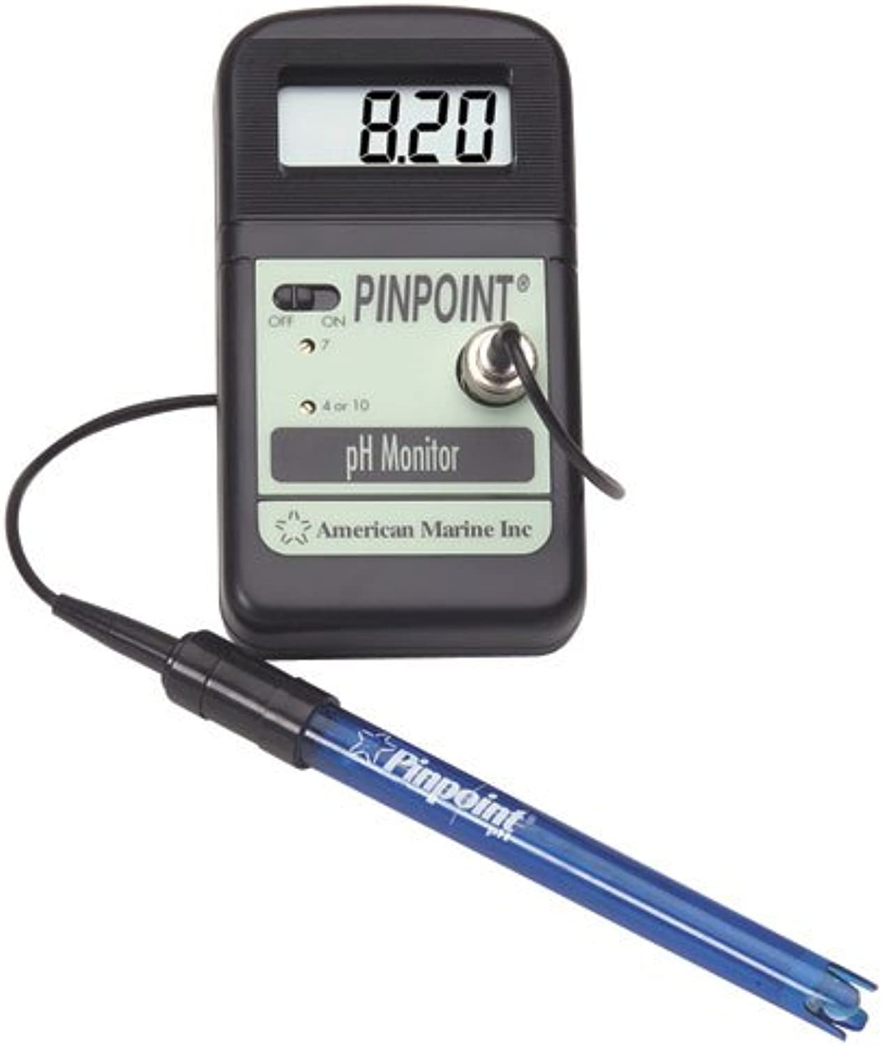 American Marine PINPOINT pH Monitor + Calibration Fluids