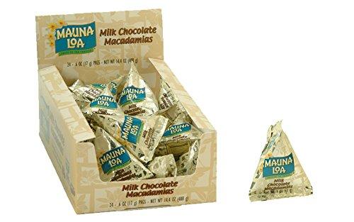 マウナロア マカデミアナッツチョコレート ミニパック 14g (24袋入り) 408g 輸入チョコレート 輸入マカデミアナッツ 輸入マカデミアナッツチョコ 輸入菓子 マカデミアナッツチョコレート 1口サイズ 個包装 ナッツチョコ ハワイマカデミアナッツチョ