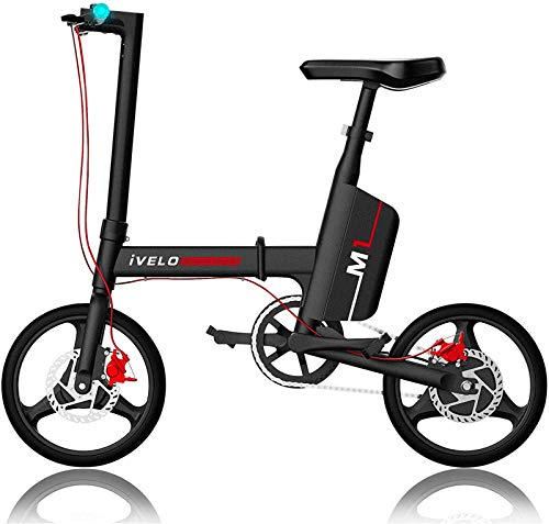 Bicicletas Eléctricas, New Super luz eléctrica plegable de Bike- 36V batería de...