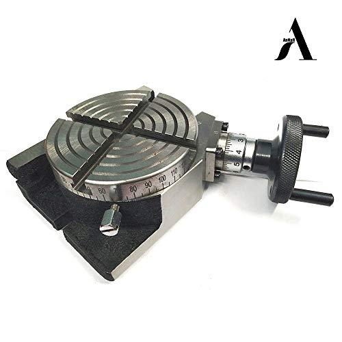 AnNafi Nueva mesa giratoria de 75 mm - modelo horizontal y vertical - fresadora