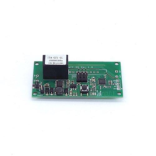 Sonoff SV Sichere Niederspannungs-WLAN-Funkschalter Smart Home-Modul DC 5V-24V Telefon-APP Fernbedienung Unterstützung Sekundärentwicklung für Amazon Alexa Google Nest Assistent WIshiot