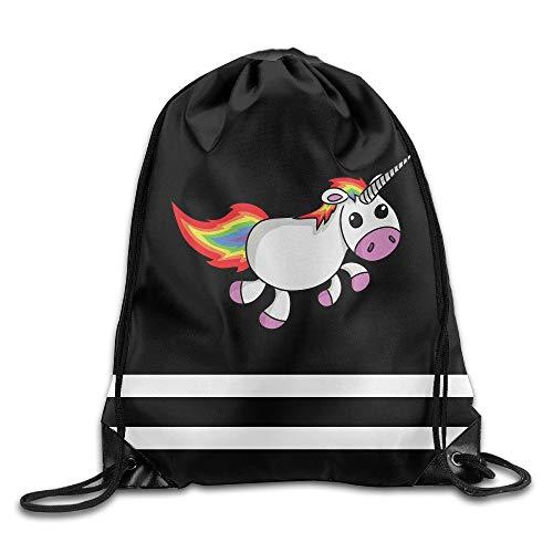 Animal Rainbow Lorikeet Birds Trunk Bird Unisex Outdoor Rucksack Shoulder Bag Travel Drawstring Backpack Bag