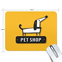 ユキオ(UKIO) マウスパッド おしゃれ 防水 滑り止め かわいい 使いやすい 北欧 マスコット 頭 犬 女性 リストレスト マウス PCアクセサリ 男性