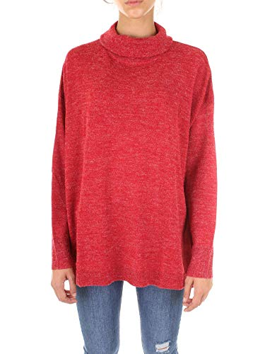 PIECES Pcanilla LS Rollneck Knit PB suéter para Mujer