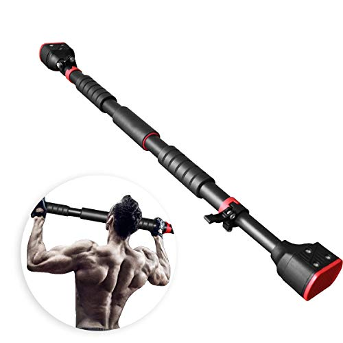 """VAV Pull Up Bar for Doorway, Chin Up Bar Wall Mounted for Workout, Household Horizontal Bar for Home Gym Exercise Fitness, Adjustable 28""""-38.2"""", 440 LBS"""