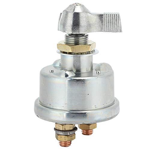 Interruptor de desconexión de batería principal, interruptor de desconexión de batería principal de 12 V, protección de corte de alta corriente para remolque de coche, camión y RV