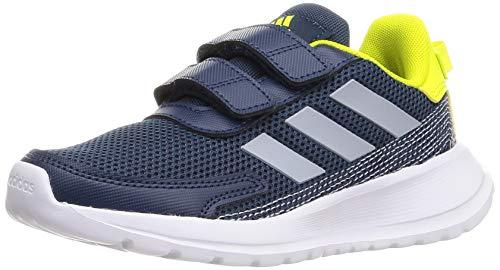 adidas TENSAUR Run C, Zapatillas de Running, AZMATR/PLAHAL/AMAACI, 28 EU