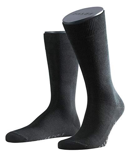FALKE Herren Family Socken Strümpfe 14645 6er Pack, Sockengröße:43-46;Artikel:14645-3000 black