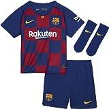 Nike FCB I Nk BRT Kit Hm Football Set, Unisex niños, Deep Royal Blue/(Varsity...