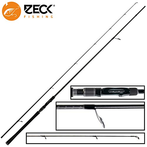 Zeck Peak JG 2,70m 50g - Spinnrute zum Spinnfischen auf Hechte & Zander, Angelrute zum Raubfischangeln, Zanderrute, Jigrute