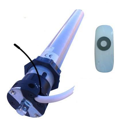 Rollmatik Motore Radio per tapparelle 50 NM - 100Kg (con Telecomando)