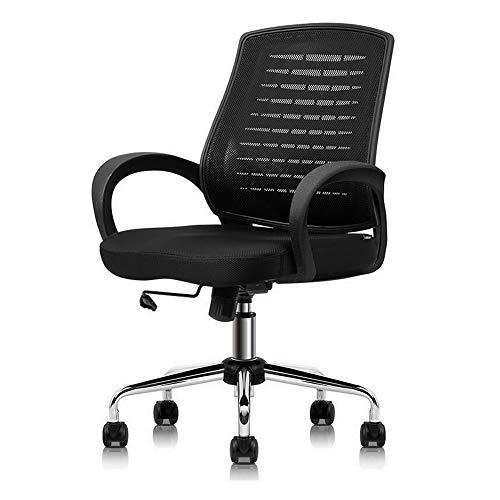 GXYAS Computerstuhl, Büro Computer Drehstuhl, Home Drehstuhl Liege, Ergonomischer Maschen-Gewebe-Büro-Stuhl, Computer-Personal-Stuhl-Ausgangsstuhl-anhebender Drehstuhl