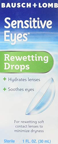 Price comparison product image Bausch & Lomb Sensitive Eyes Rewetting Drops 1 oz