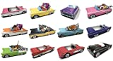 Dunwoody Specialty Sales - Classic Car Sets 12 Classic Car Party Food Boxes - 1950's Collection